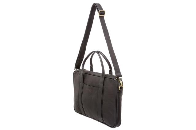 The tote has dual carry handles and a 38cm handle drop.