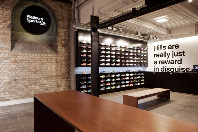 Retail Finalist: Platinum Sports Co. by Switch/Frame Architecture.