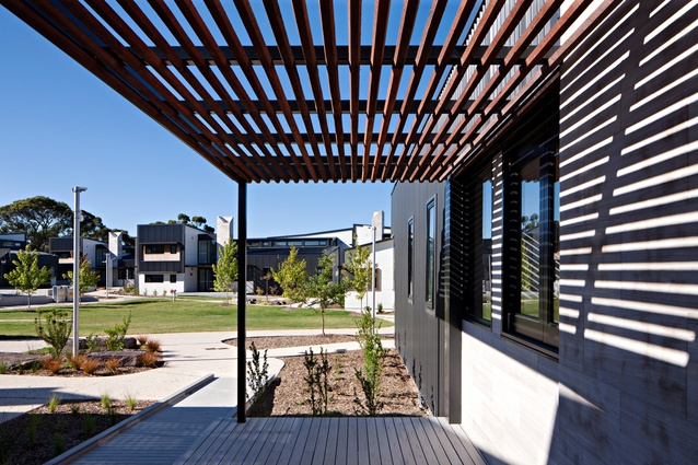 Wesley College Learning In Residence by Cox Architecture.