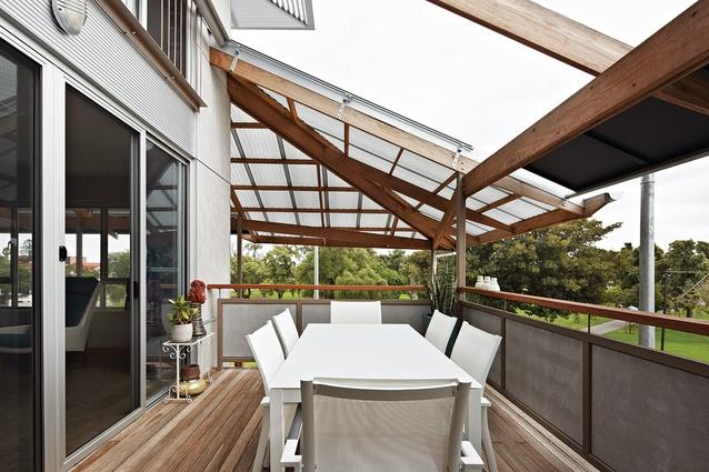 Whitmore square affordable eco housing by troppo for Gazebi usati in legno