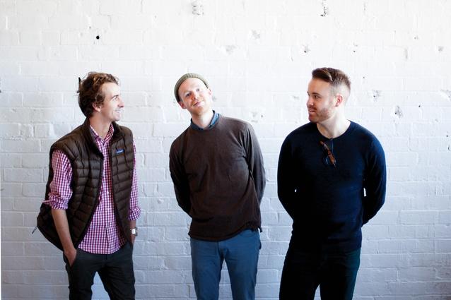 The Lab De Stu team (L–R): Adam Lynch, Dale Hardiman and Andre Hnatöjko.
