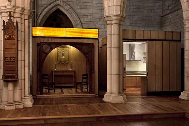 Civic Finalist: St Thomas' Chapel in St Matthew in-the-City Church by Salmond Reed Architects.