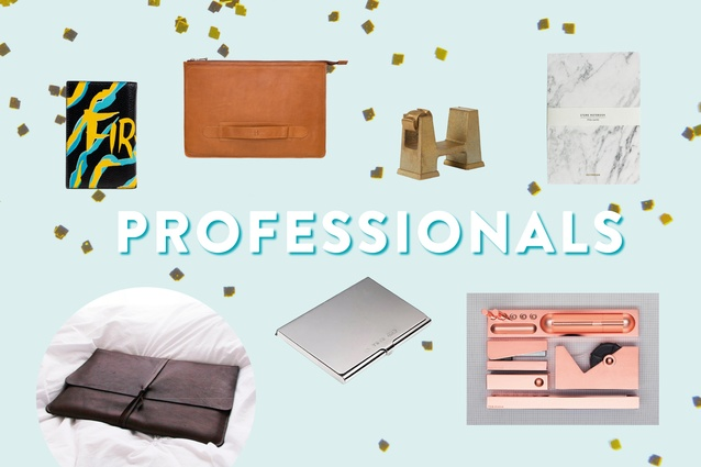 Gifts for the professional.