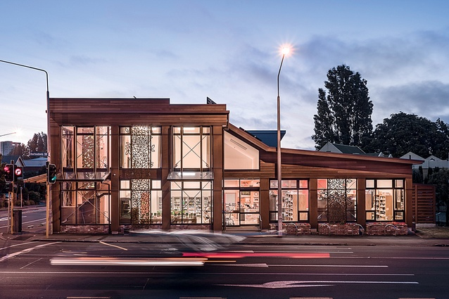 PIKO Wholefoods building, designed by Solarchitect.