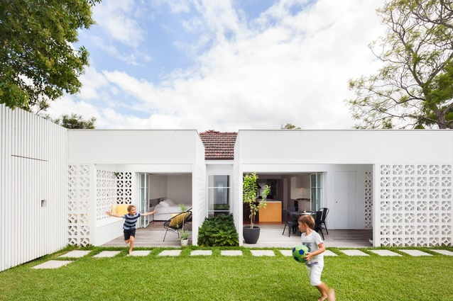 Breeze Block House by Architect Prineas.
