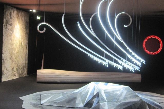 <em>The Elements</em> by David Trubridge, a 3-D carpet project for Tsar.