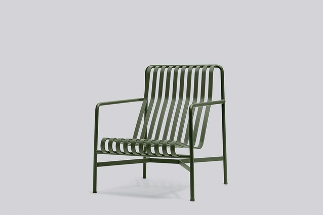 "Palissade lounge chair by Ronan and Erwan Bouroullec I $1,033.95 from  <a  href=""https://cultdesign.co.nz/shop/palissade-lounge-chair"" target=""_blank""><u>cultdesign.co.nz</u></a>"