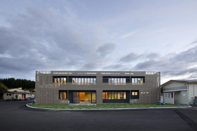 Education Award winner - Waipa Woodprocessing Workshop by Darryl Church Architecture.