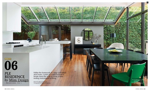 A preview from the magazine: PLE Residence by Mim Design.