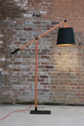 Ibis standard lamp by Stuart Williams.