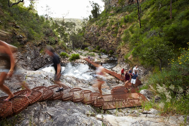MacKenzie Gorge Trail by Hansen Partnership.