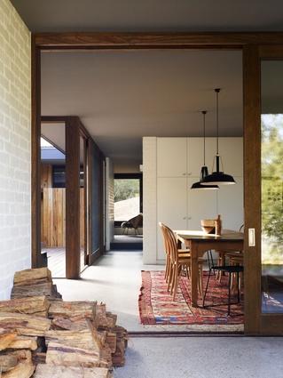 Merricks Beach House by Kennedy Nolan Architects.