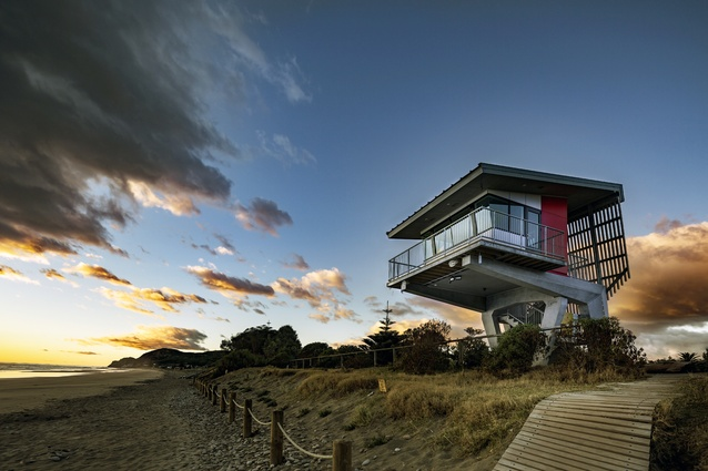 Small Project Architecture winner: Waimarama Surf Lifesaving Club by Paris Magdalinos Architects.