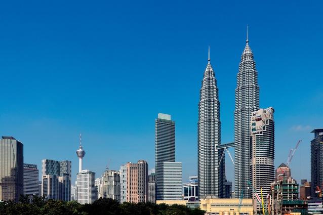 Kuala Lumpur cityscape.