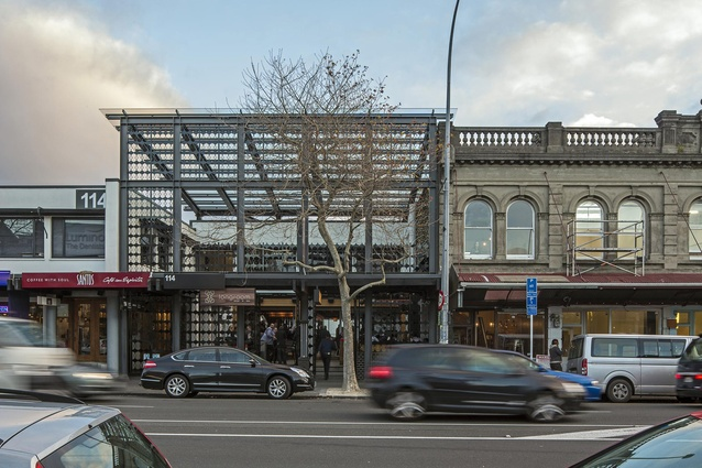 Small Public Architecture Award: Longroom Canopy by RTA Studio.