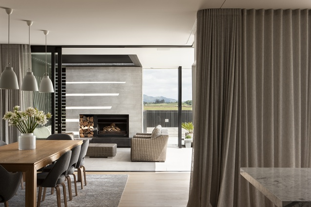 Gordonton residence by Edwards White. This project won a Housing award in the 2016 Waikato/Bay of Plenty Architecture Awards.