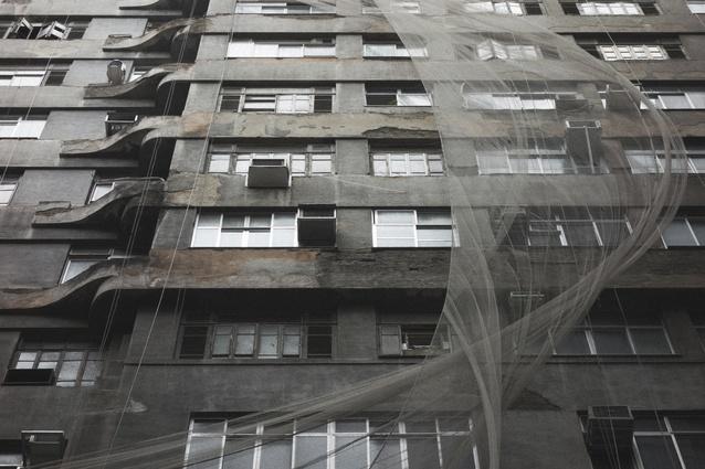 City architecture, Rio de Janeiro, Brazil.