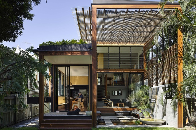 Carrick-Stalker House by Architectus and LookOUT Design.