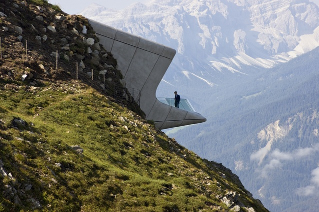 Messner Mountain Museum by Zaha Hadid.
