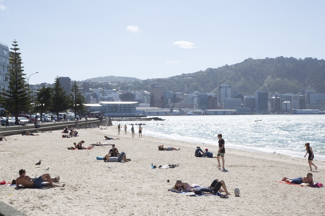 Wellington's waterfront.