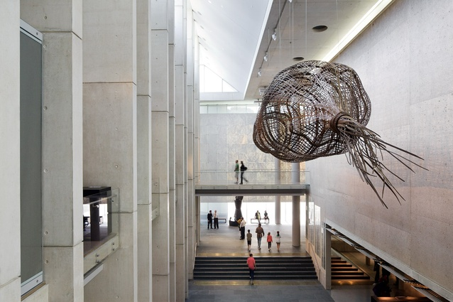 Foyer Art Gallery : Extending the national gallery of australia architectureau
