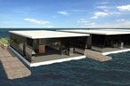 Student designs floating 'apartments'