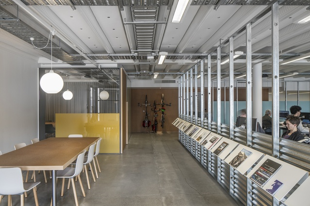 Interior Architecture winner: architecture+ Office Fitout by architecture+.
