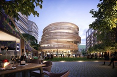 Kengo Kuma's Darling Square civic building approved