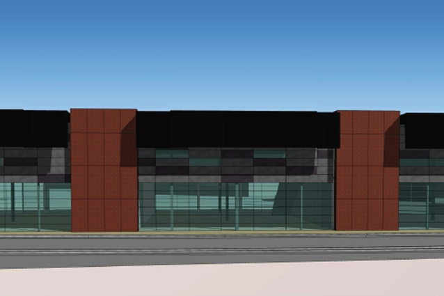 Completion date: early 2013. Blenheim Road Retail Development by The Buchan Group, 65 Blenheim Road. A contemporary building on a difficult site for Ngai Tahu Properties. It will house specialty retail with double-height and mezzanine spaces.
