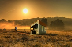 Architect-designed tiny house helping farmers