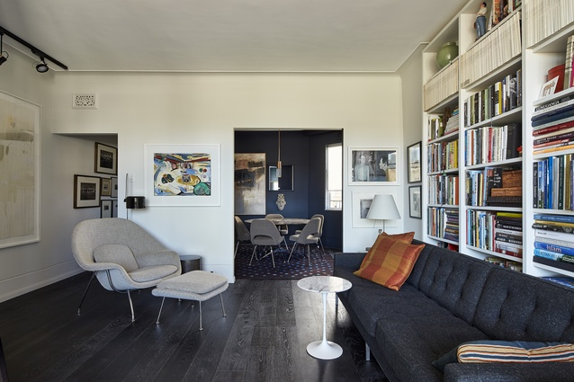 Byron Hall Apartment by Stephen Collier Architects.