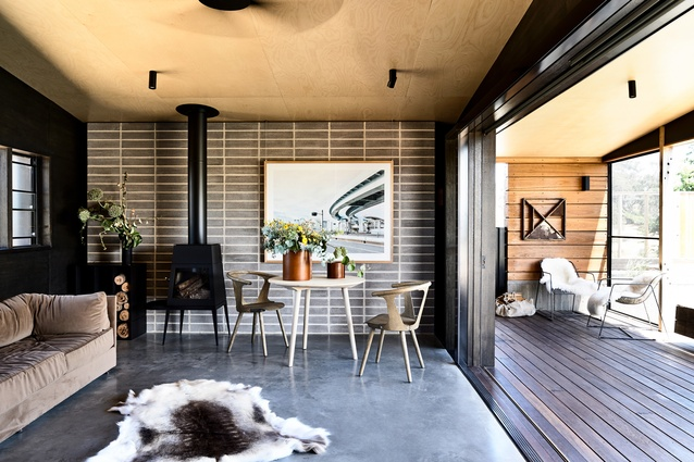 Hill Plains Cottage by Wolveridge Architects.
