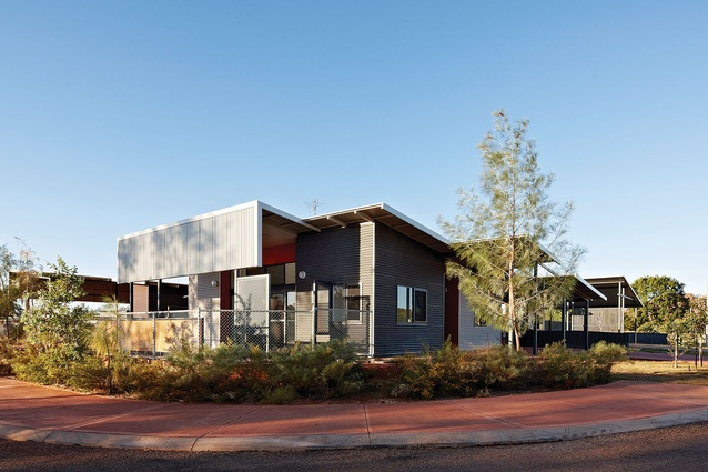 East Kimberley Development Package Transitional Housing (WA) by Iredale Pedersen Hook.