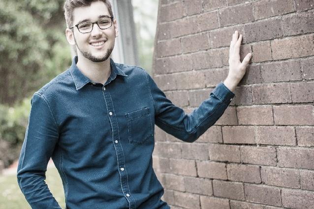 Brendan Roffey, University of Queensland student and Conrad Gargett project coordinator.