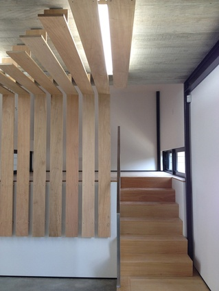 Suspended timber Rosawa boards.