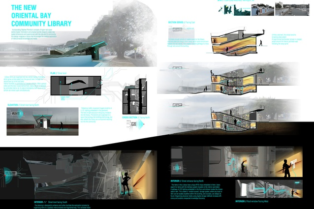 Assessment board – Interior Design First Prize: Oliver Blaire.