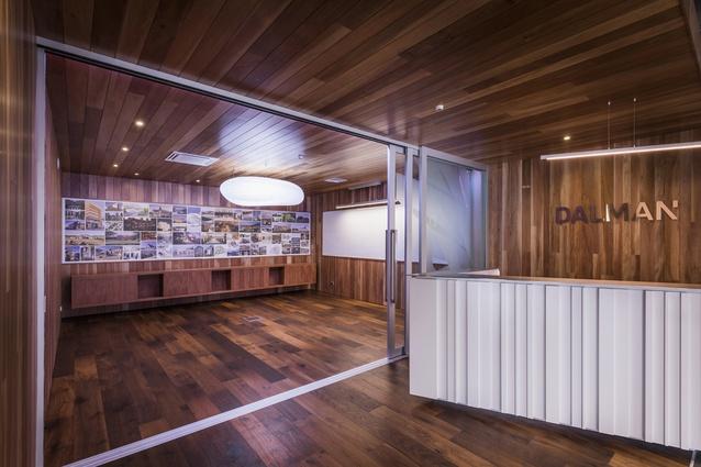 Dalman Architects' new studio in Colombo Street, Christchurch.