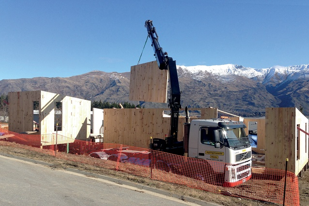 Makers of Architecture has a full-scale, in-house CNC machine to build its own houses. This recently constructed house in Wanaka utilised the firm's digital fabrication and construction methodology.