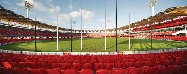 Metricon Stadium submitted by Populous.