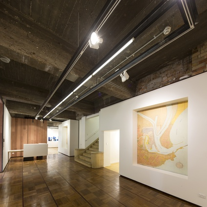 Watt Space Gallery by Andrew Donaldson Architecture and Design.