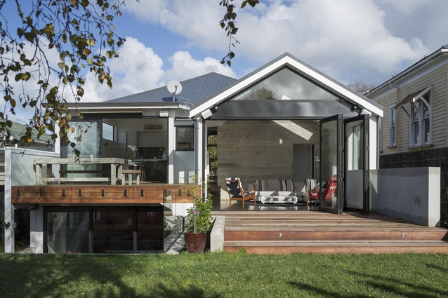Grey lynn renovation architecture now for Extension villa