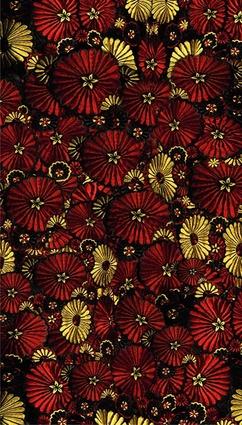 The Flowerbrella rug.