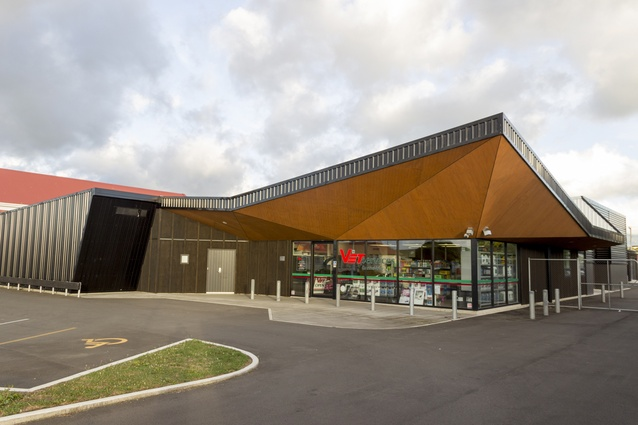 Commercial Architecture Award: Vet Services Dannevirke by Dalgleish Architects.