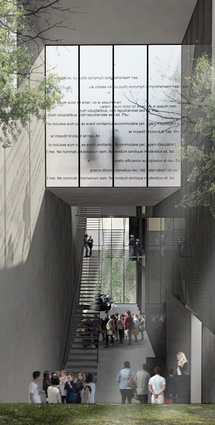 Render of Jewish Holocaust Museum, Melbourne. Currently in progress.