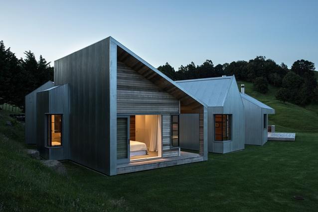 Housing winner: Pukapuka Rd House, Mahurangi by Belinda George Architects.