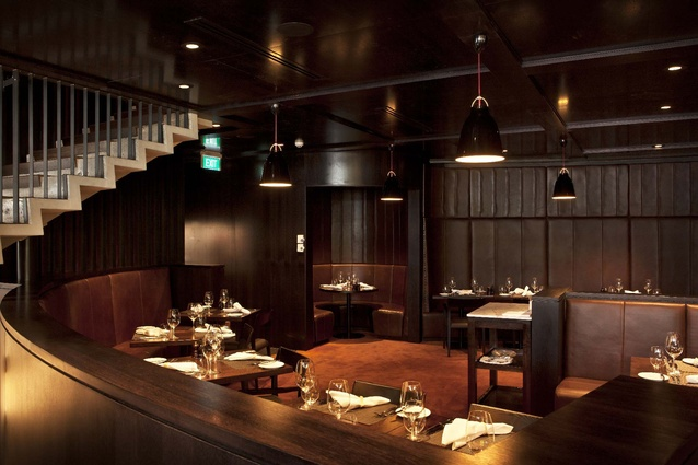 The Grill Restaurant by Andrew Lister Architect Ltd.
