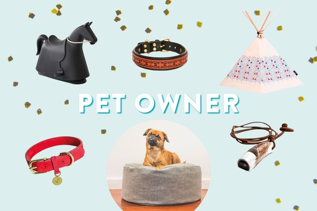 Gifts for the pet owner.