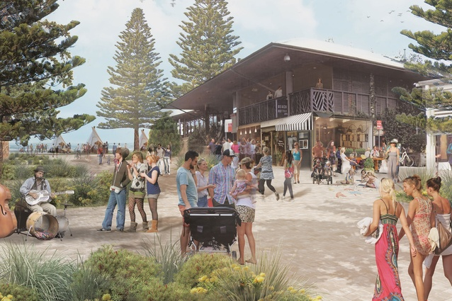 Byron Bay Town Centre designed by McGregor Coxall.