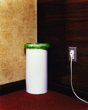Takashi Yasumuras &lt;em&gt;A Trash Bin&lt;/em&gt;, 1999 from the photographers &lt;em&gt;Domestic Scandals&lt;/em&gt; series of acute observations on the odd, the compelling or unnerving nature of simple, daily &quot;things.&quot;