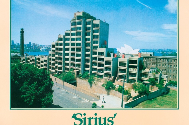 Sirius as depicted in Housing Department promotional booklet, 1980.